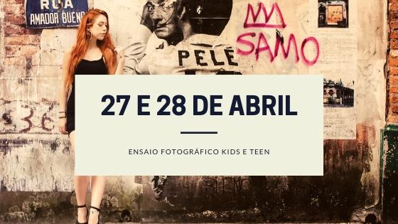Imagem capa - Ensaio Fotográfico Teen em São Paulo, 27 e 28 de abril por Ricardo Di Blazi