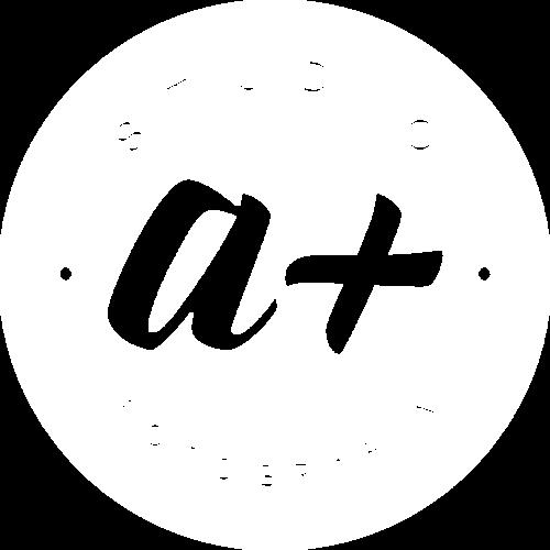 Logotipo de Studio A+ Fotografia