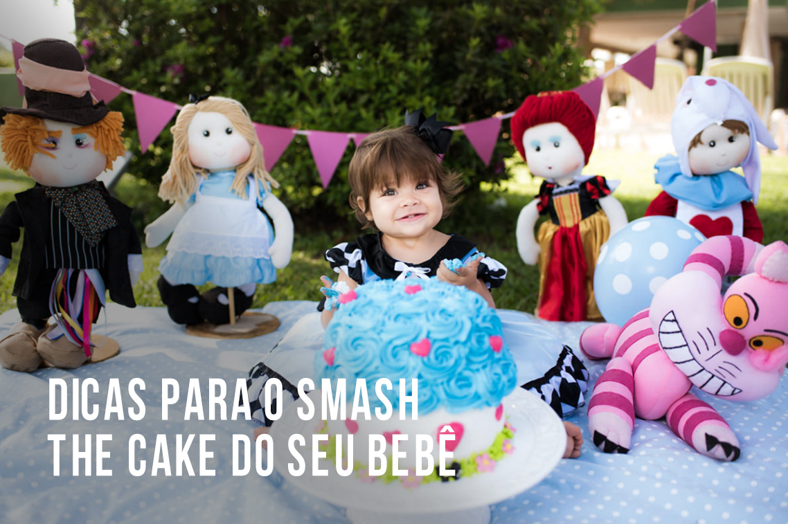 Imagem capa - Dicas para o smash the cake do seu bebê por Marcelo Foto