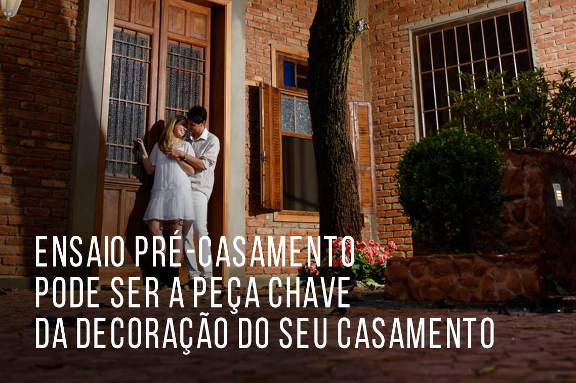 Imagem capa - Ensaio pré-casamento: a peça chave da decoração do seu casamento por Marcelo Foto
