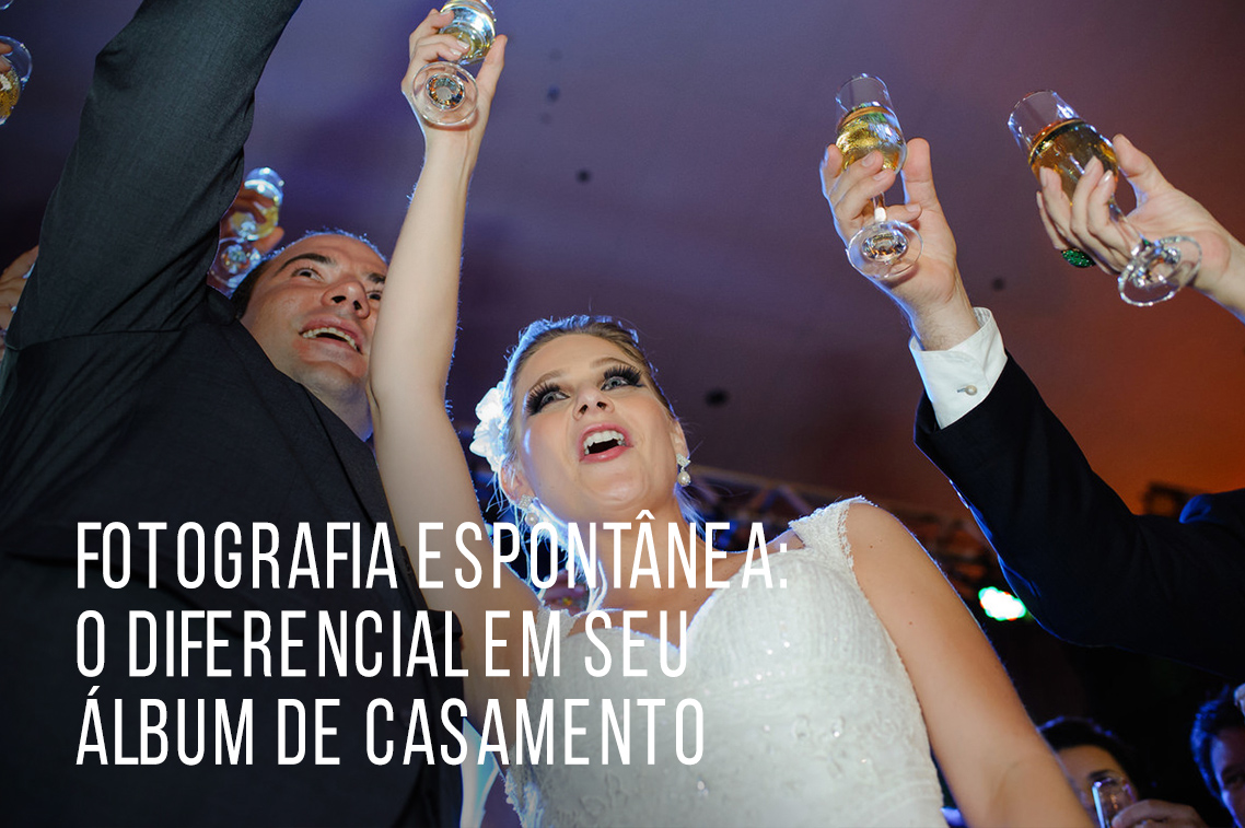 Imagem capa - Fotografia espontânea: o DIFERENCIAL em seu álbum de casamento por Marcelo Foto