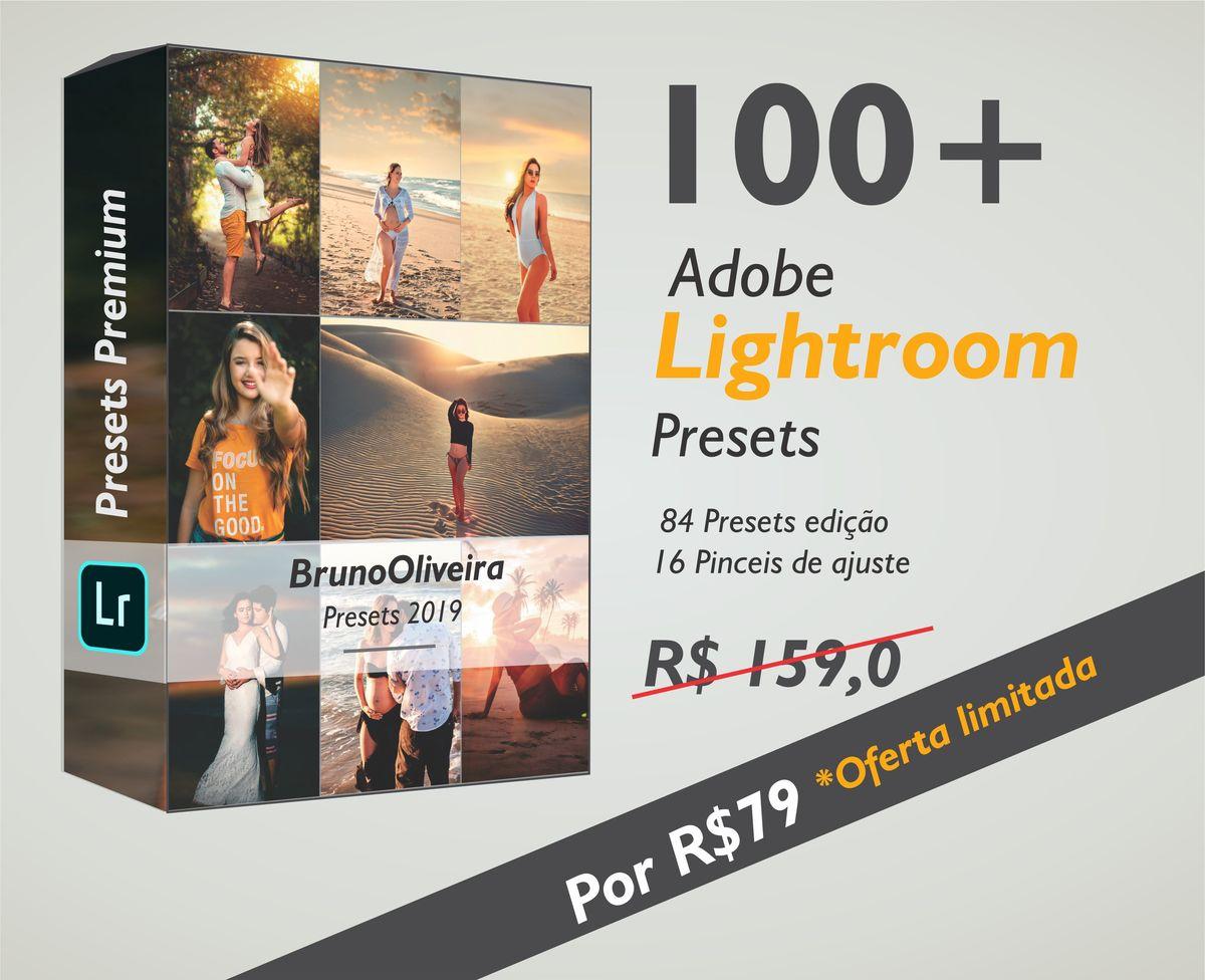 Imagem capa - Coleção de Presets Premium 2019 - Adobe Lightroom  por Bruno Oliveira