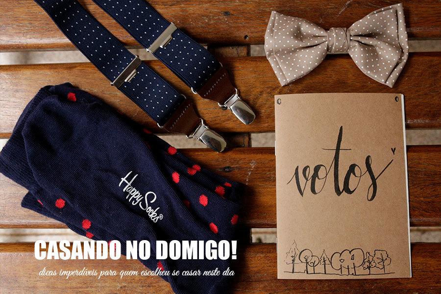Imagem capa - Casando no domingo - dicas imperdíveis para quem escolheu se casar neste dia  por Cristiano Polizello