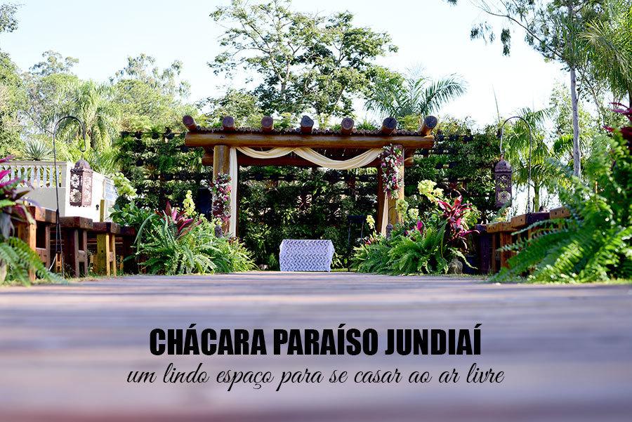 Imagem capa - Chácara paraíso jundiaí, um belo local para se casar ao ar livre por Cristiano Polizello