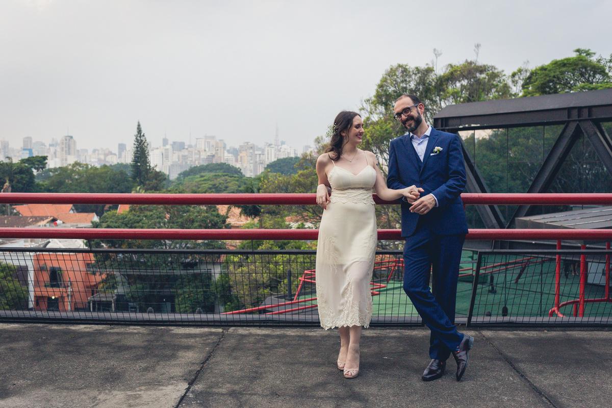 noivos na Escola Panamericana de Artes