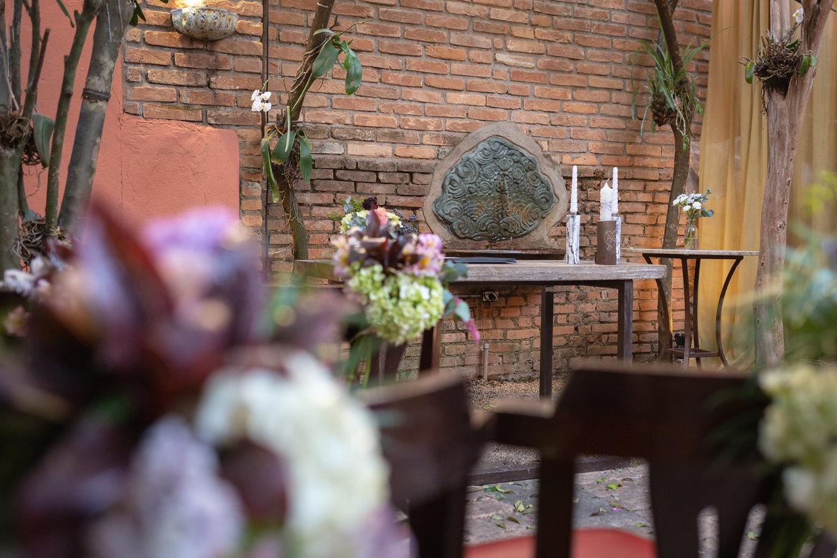 Casamento Amanda E Gabriel Flores Na Varanda São Paulosp