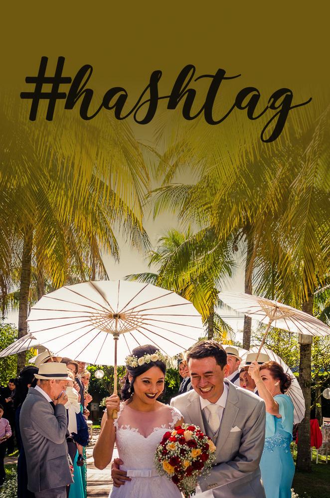Imagem capa - Por que criar uma Hashtag exclusiva para seu casamento? por Nando Lopes Fotografia