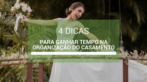 Imagem capa - 4 Dicas para ganhar tempo na Organização do Casamento por Robson Luz