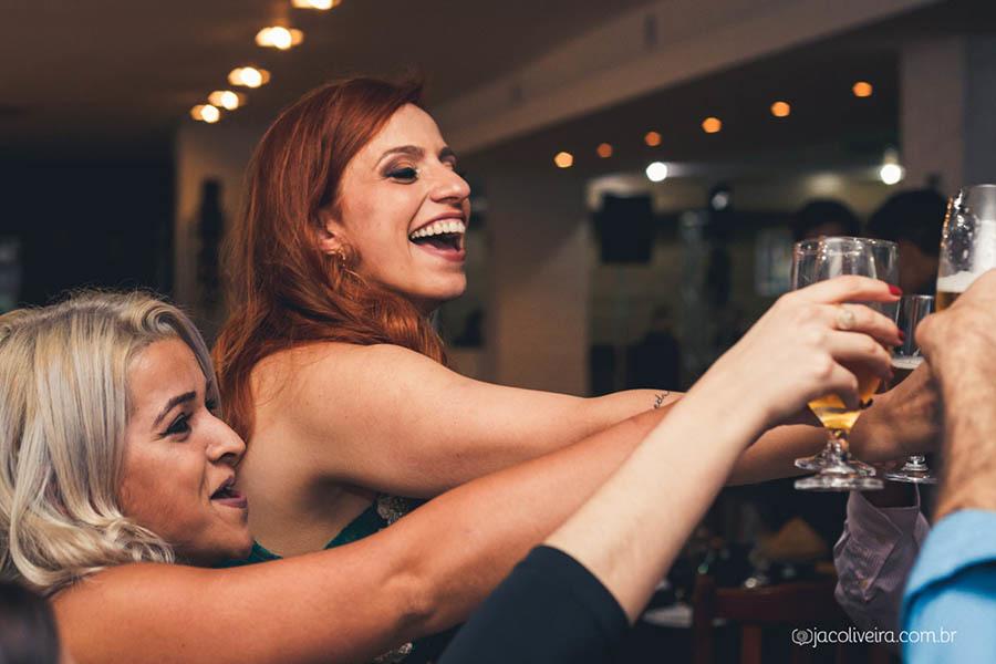 brinde na festa de formatura fotografia em porto alegre