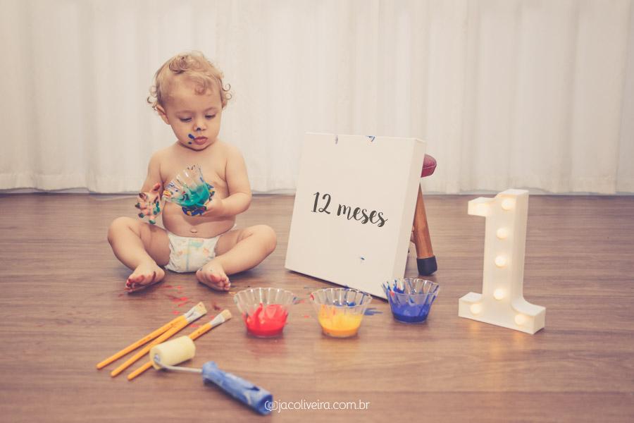 acompanhamento mensal primeiro ano do bebê fotos em casa 1 ano jac oliveira porto alegre