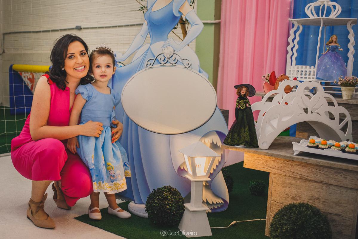 fotógrafo em porto alegre aniversário infantil eventos azul e rosa mãe e filha