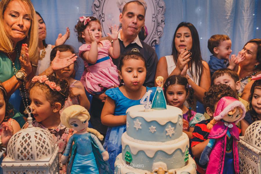 fotógrafo de festa infantil em porto alegre bolo frozen aniversario menina