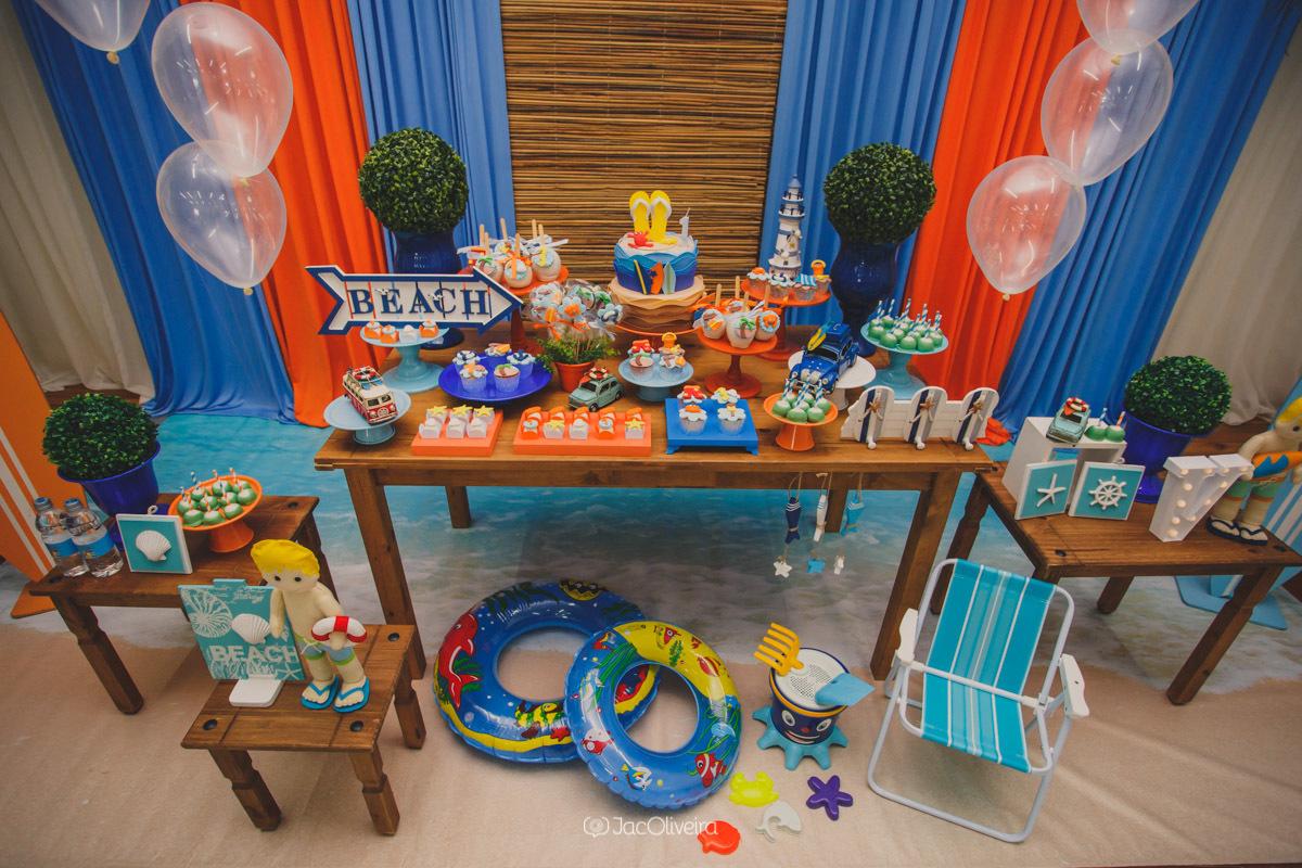 decoração festa de menino praia yupi festas canoas4