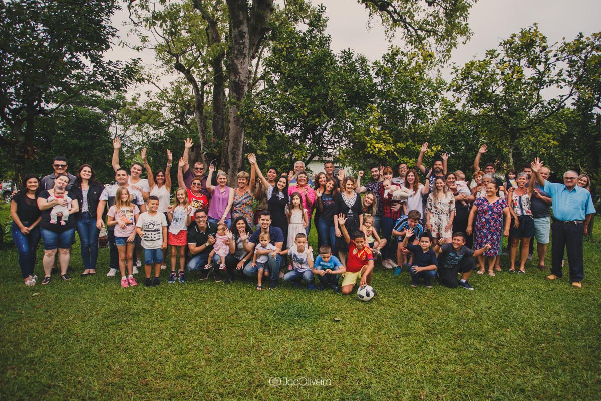 fotógrafa infantil porto alegre charqueadas foto coletiva com toda a familia