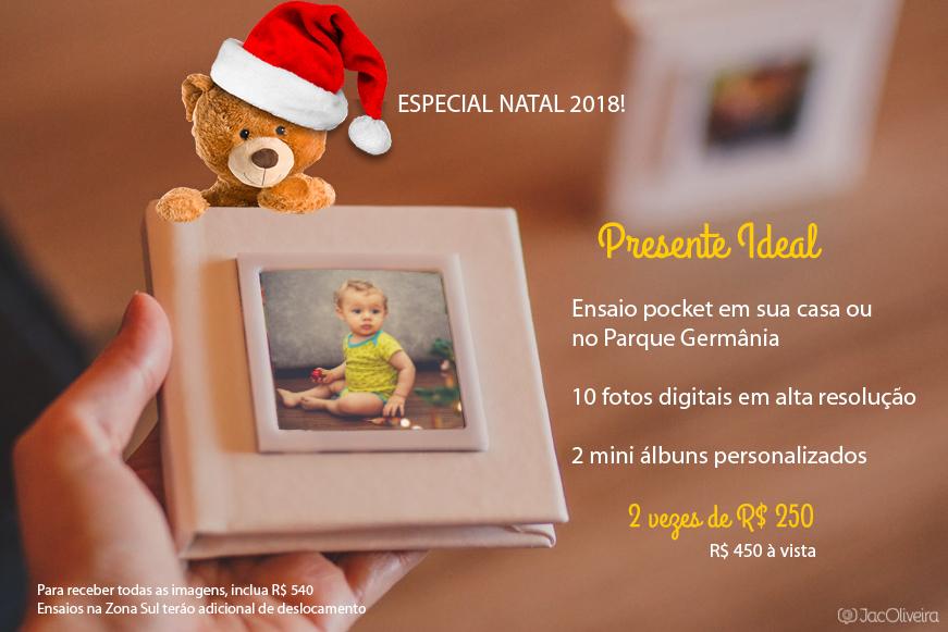 Imagem capa - Ensaios Especiais para o Natal! por Jac Oliveira