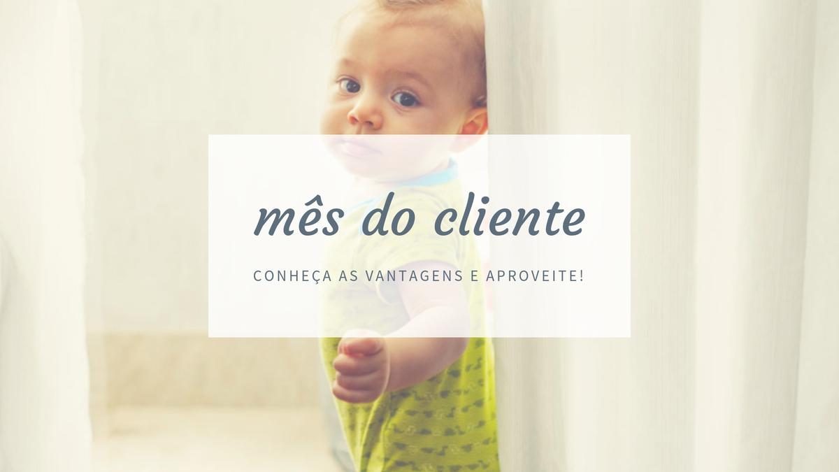 Imagem capa - Mês do Cliente com benefícios e descontos! por Jac Oliveira