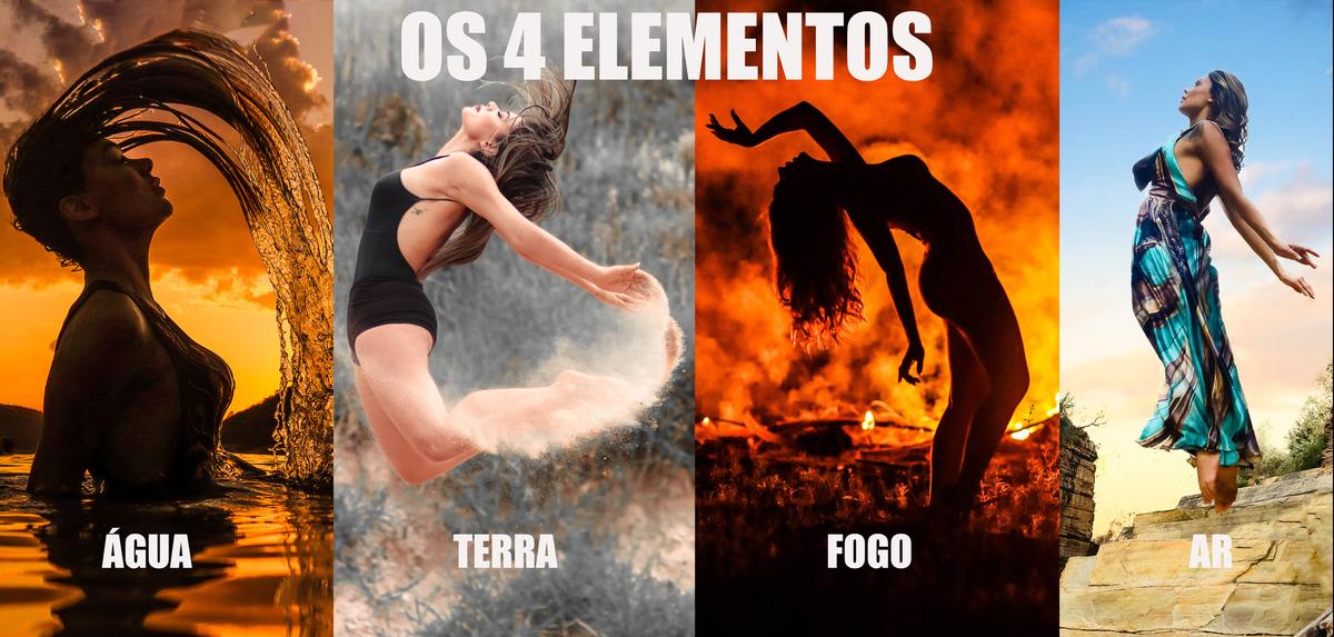 Imagem capa - Os 4 Elementos por Polyane Fiorentino por Paulo Sá Fotografia