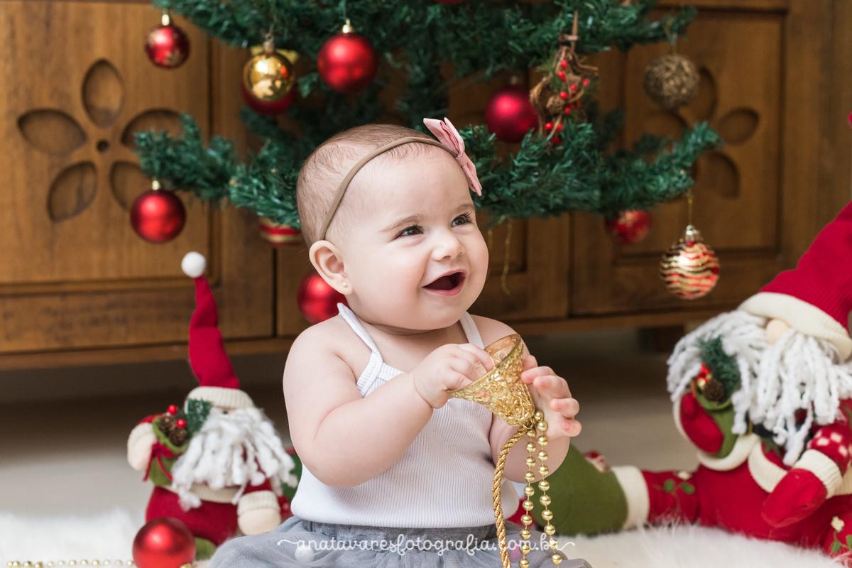 Imagem capa - O Natal já chegou! Nosso primeiro momento Natalino por Ana Tavares Fotografia