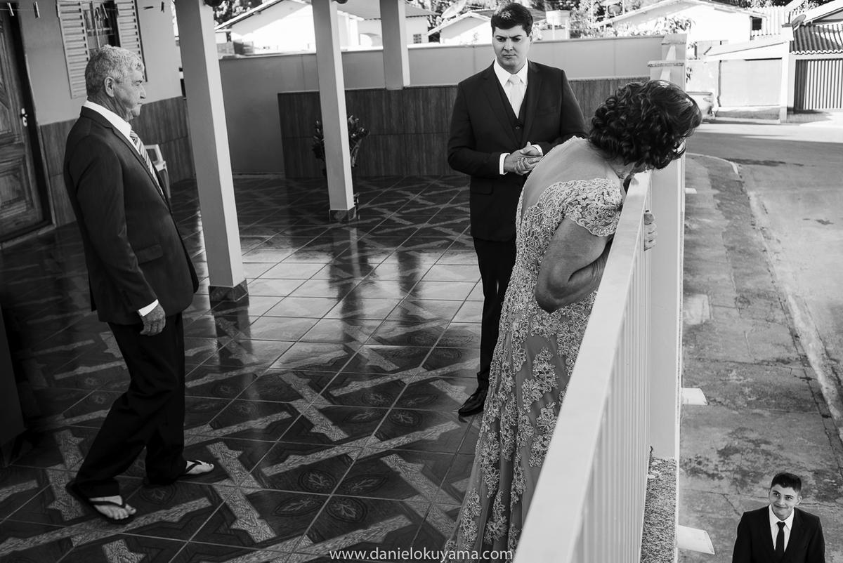 Noivo em sua casa em São Gotardo - Mg