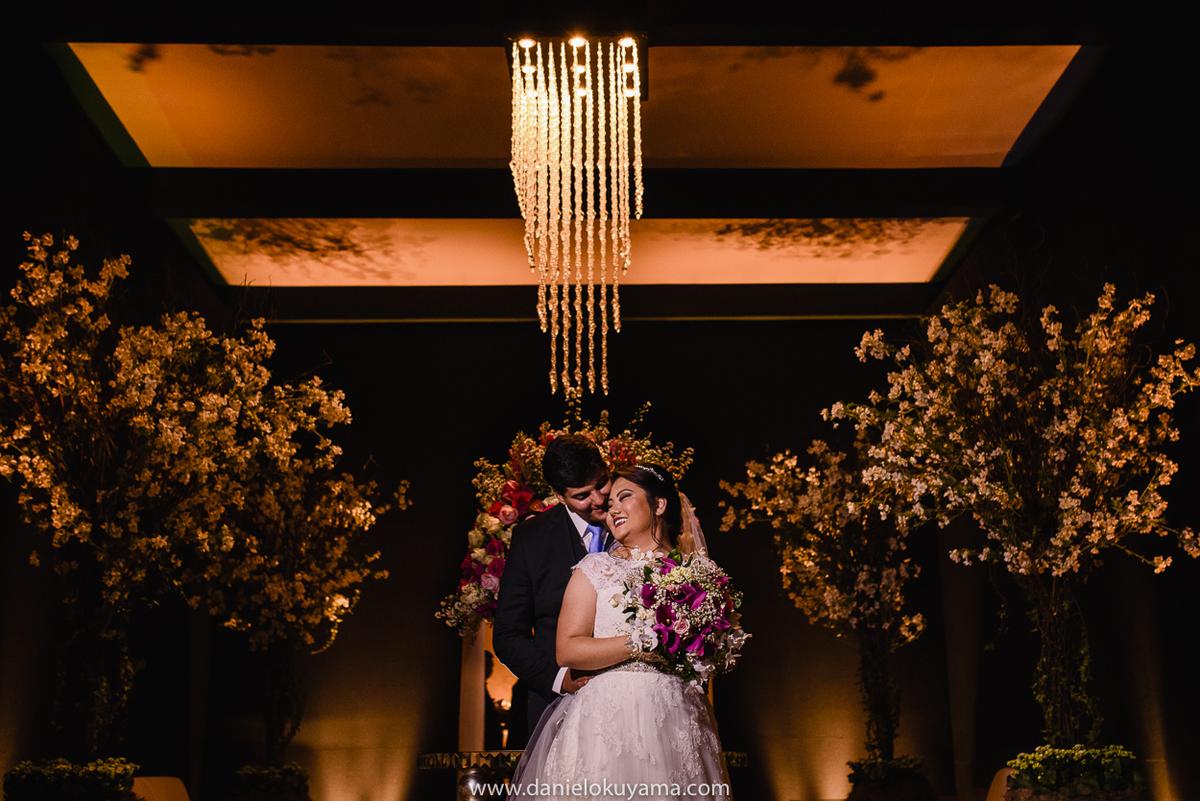 Noivo e noiva recem casados na Abcesg São Gotardo - MG
