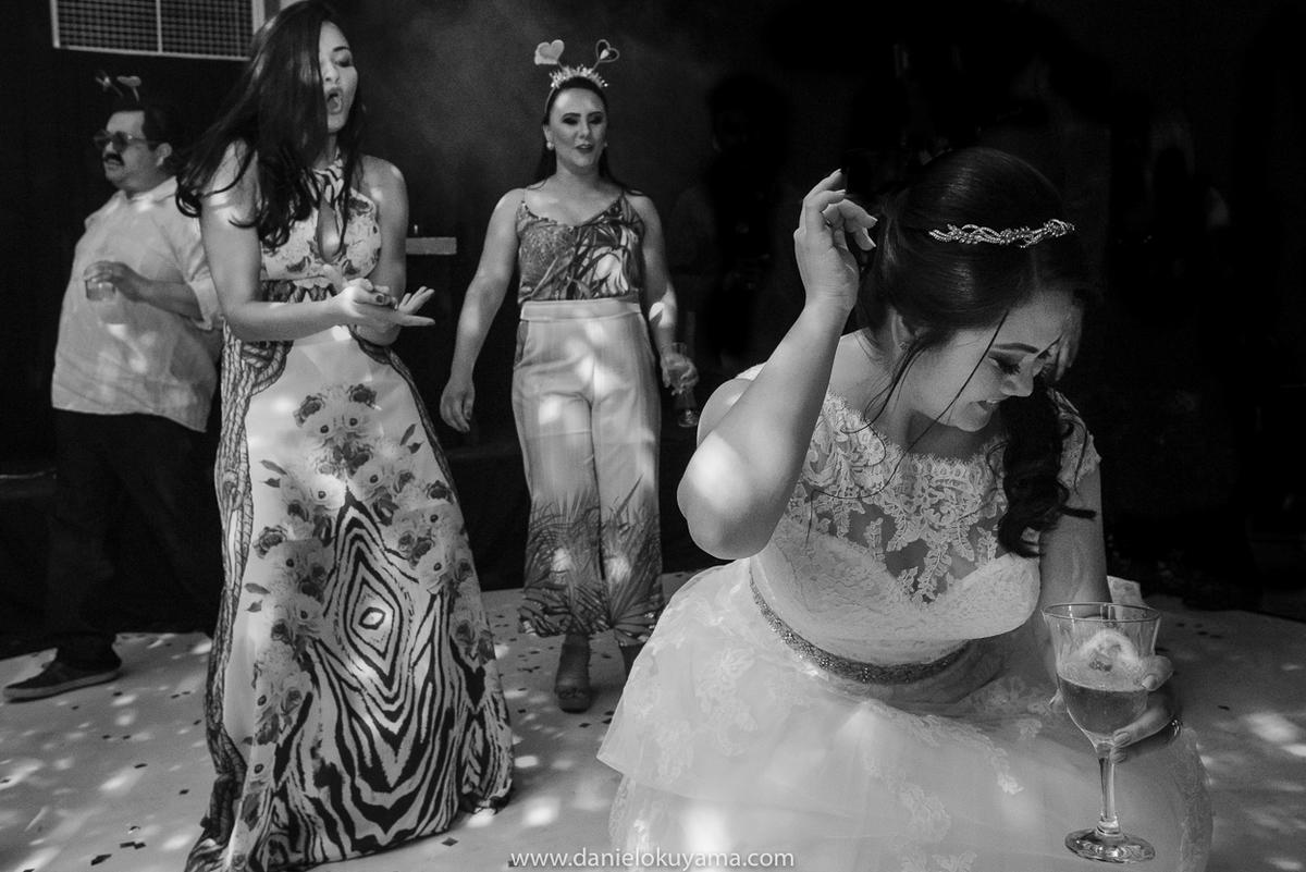 Noiva festejando na Abcesg em São Gotardo - MG