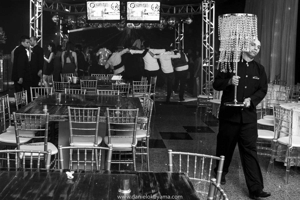 Fim de festa de casamento em São Gotardo - MG, festa na Abcesg