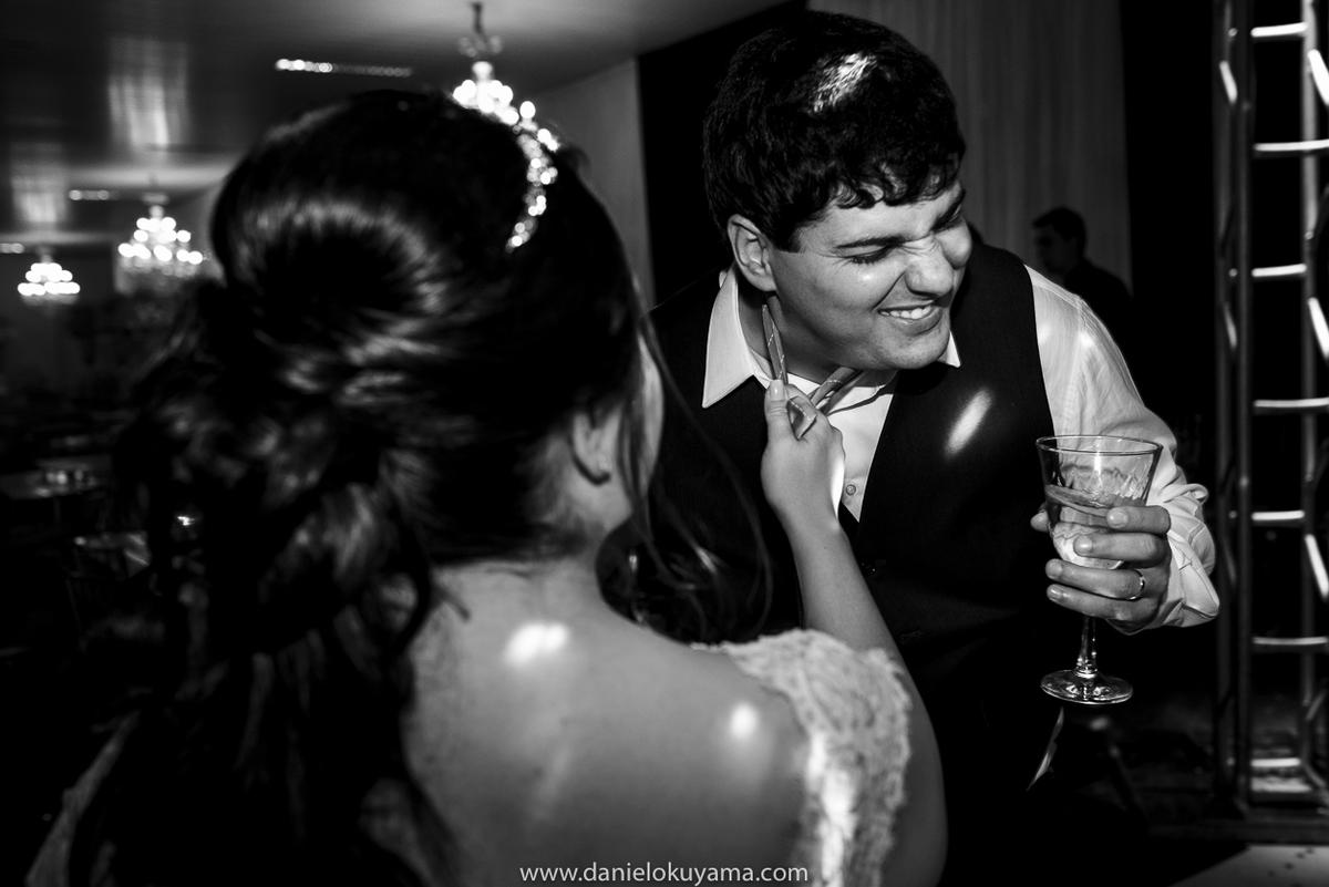 Noivo levando bronca da noiva em São Gotardo - MG