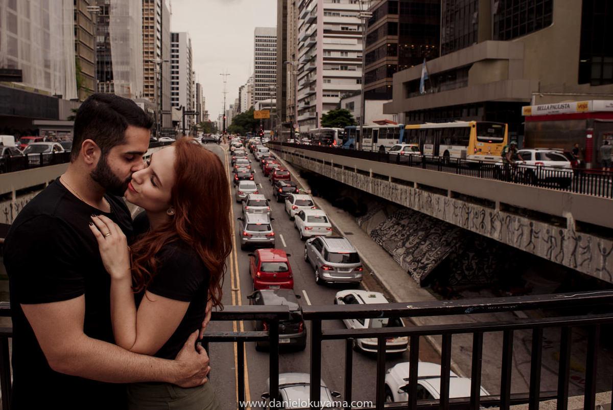 Ensaio pré casamento em são paulo - sp na avenida paulista