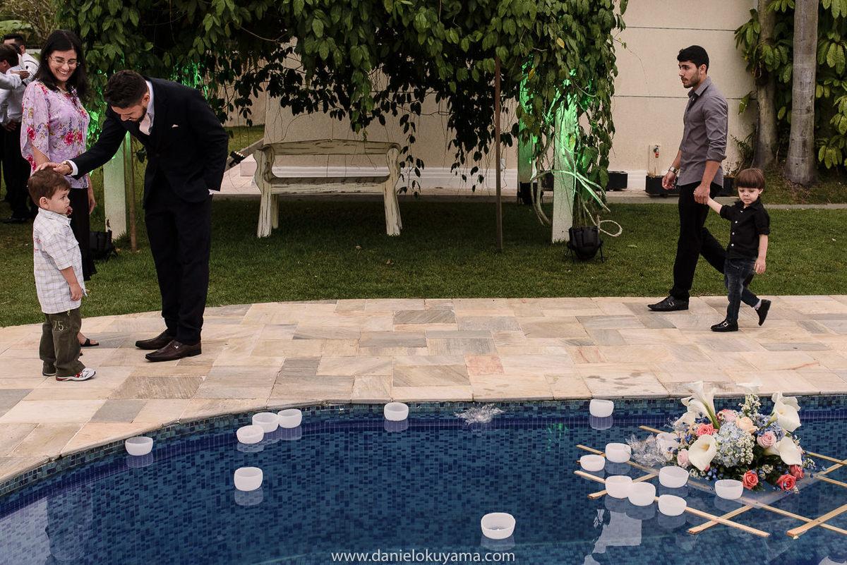 Fotografo de casamento em Santos casamento no Guarujá casamento na praia casamento na praia decoração na piscina