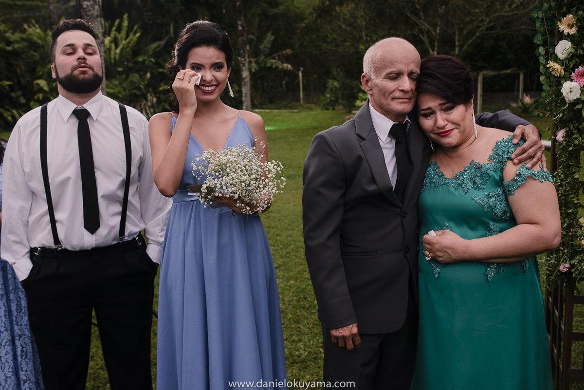 Fotografo de casamento em Santos casamento no Guarujá casamento na praia emoção dos convidados na cerimônia