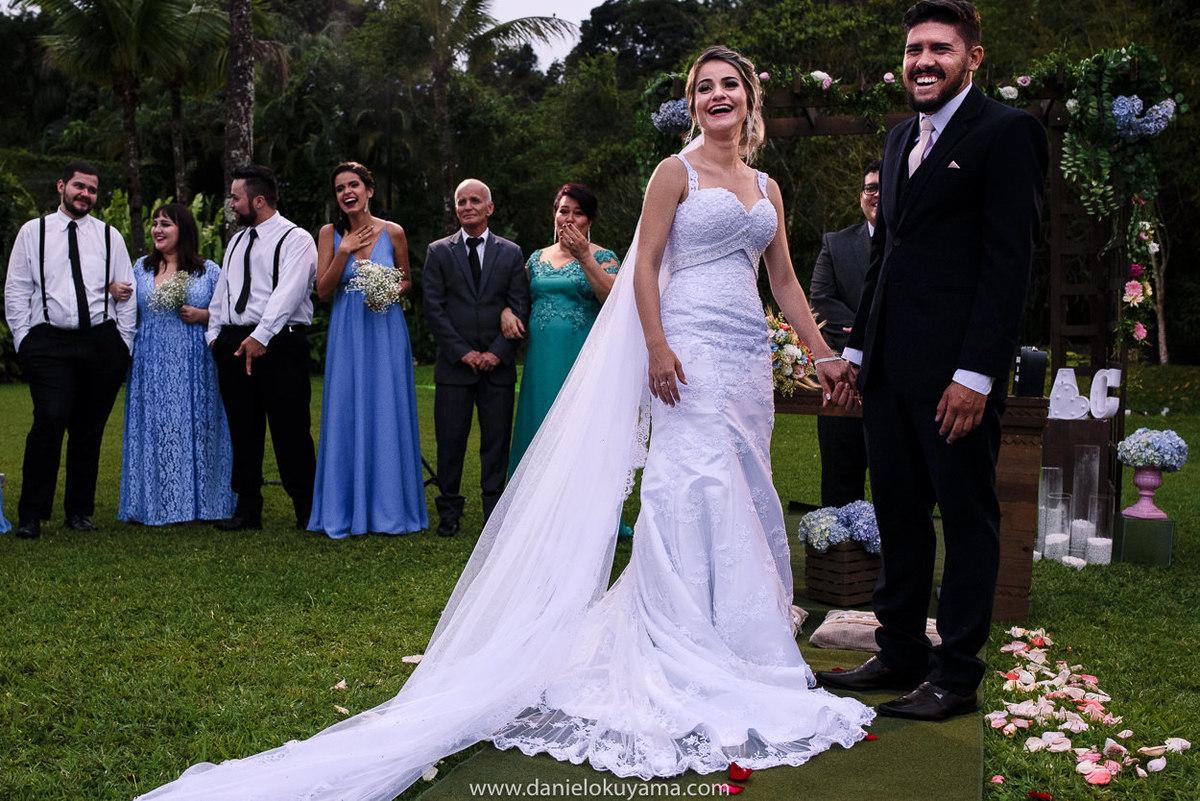 Fotografo de casamento em Santos casamento no Guarujá casamento na praia vestido da noiva