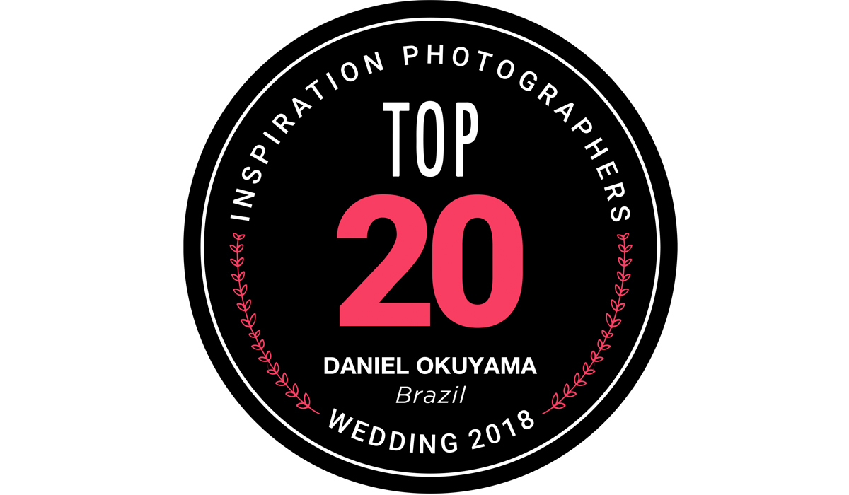 Imagem capa - TOP 20 WEDDING PHOTOGRAPHERS MOST AWARDED OF THE YEAR por Daniel Okuyama Fotografia - fotografo de casamento  Santos - Daniel Okuyama  fotografo de casamento sp