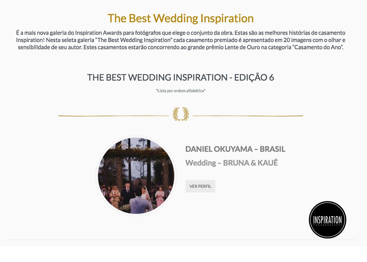 Imagem capa - The Best Wedding 06 | Casamento Bruna & Kauê | Inspiration Photographers por Daniel Okuyama Fotografia - fotografo de casamento  Santos - Daniel Okuyama  fotografo de casamento sp