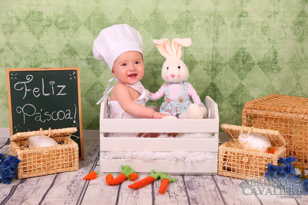 Imagem capa - Ensaio de Páscoa Infantil em Curitiba - PR por Bruno Cavaliere
