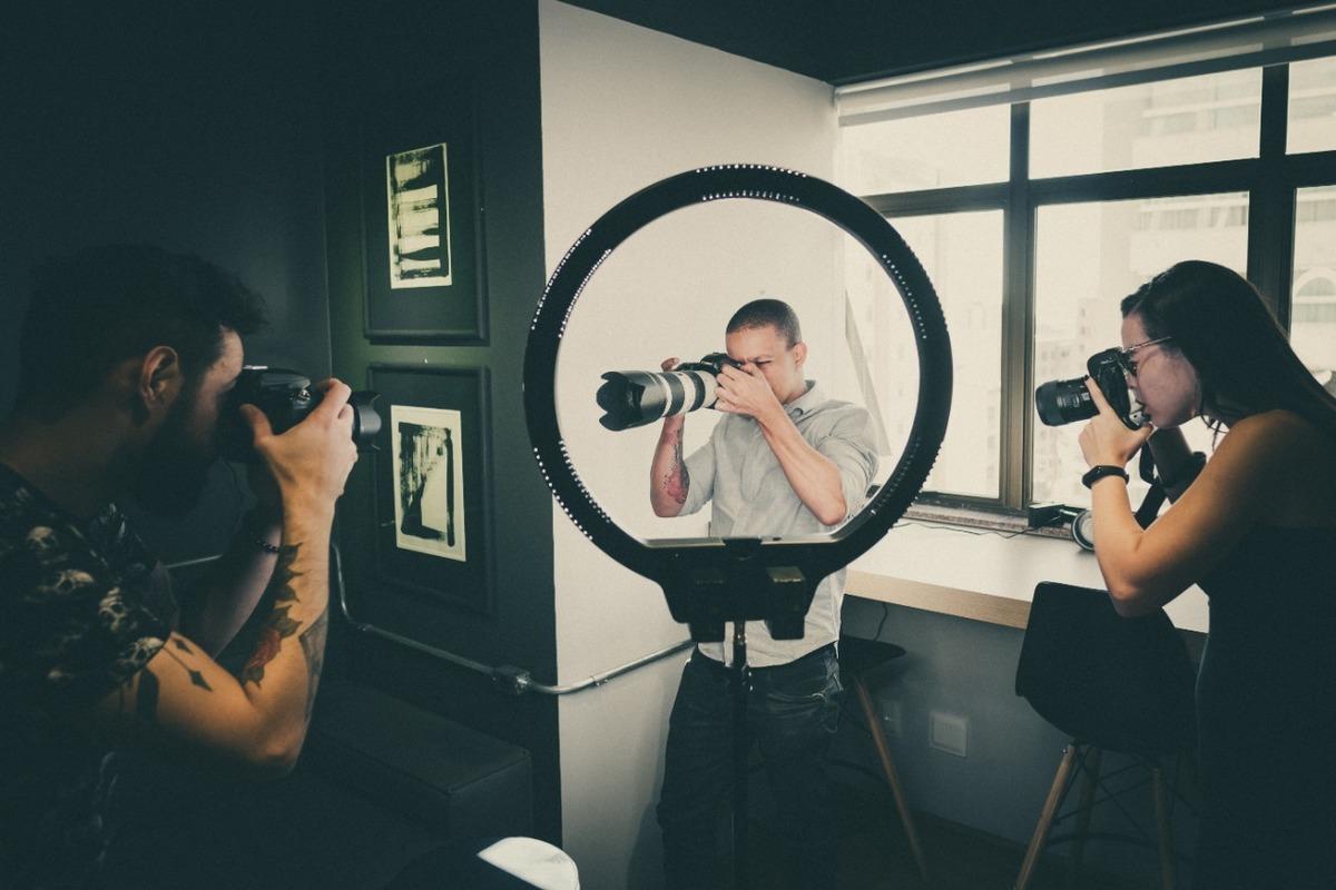 Imagem capa - Um olhar de 5 lentes por Ariane Aguiar