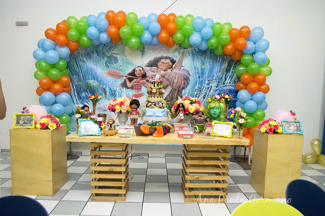 Festa Infantil Moana e Moana Baby | 5