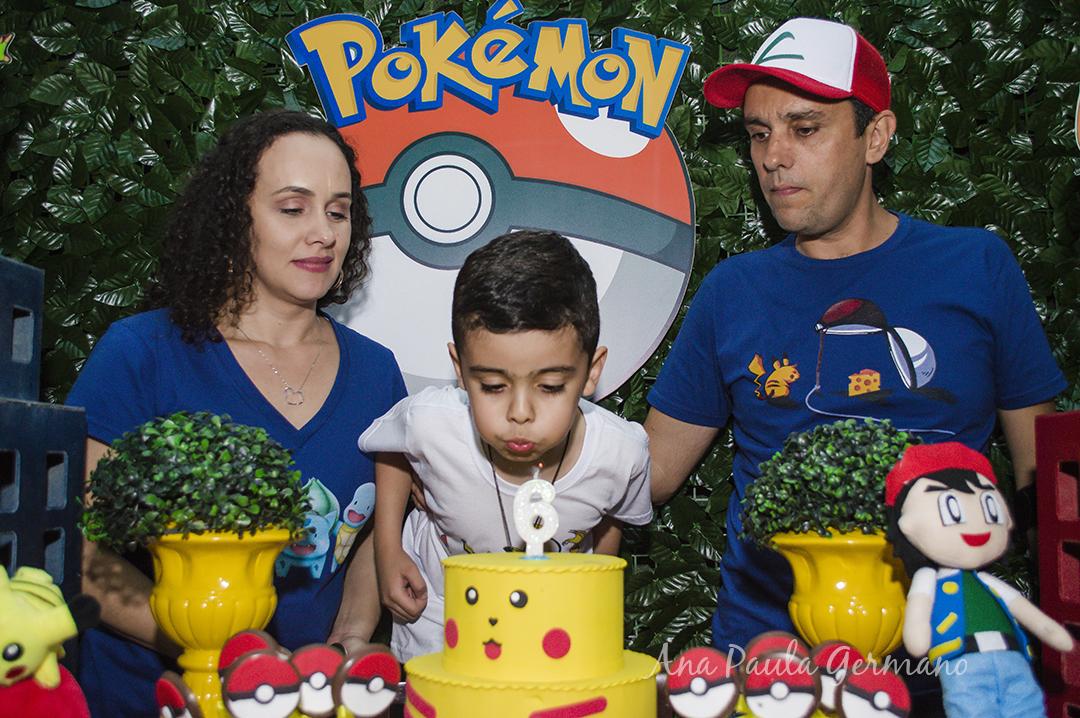 Aniversário Infantil - Tema Pokémon