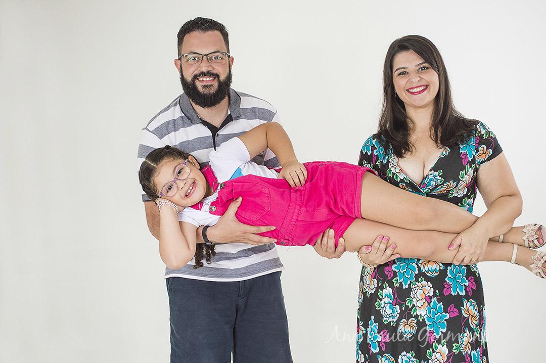 Ensaio Família - Estúdio