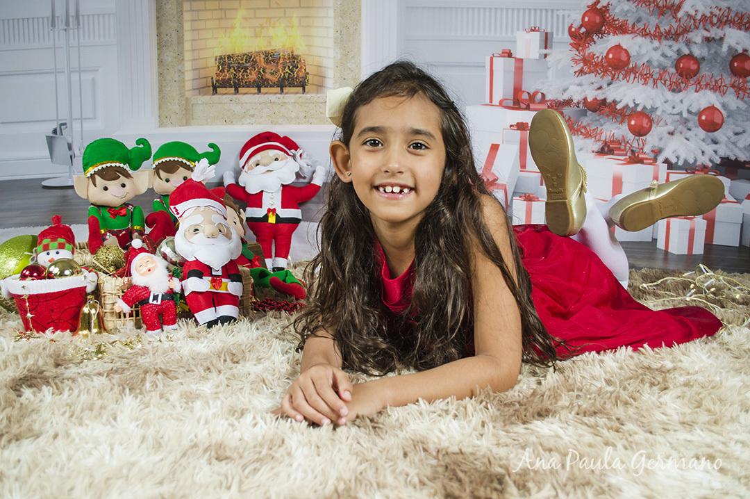 Ensaio Fotográfico de Natal em estúdiode Natal
