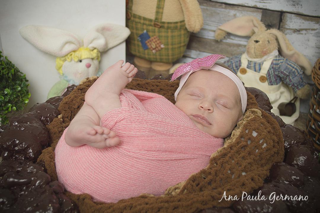 ensaio newborn menina
