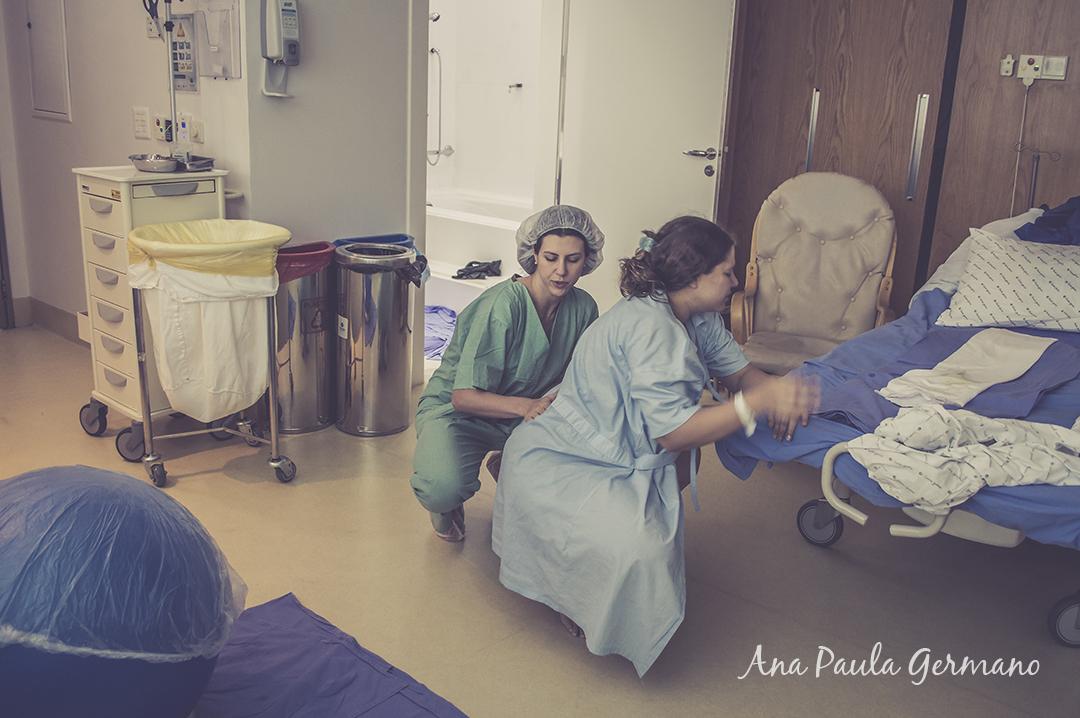 fotografia de parto - parto normal - parto cesária -hospital e maternidade Santa Joana