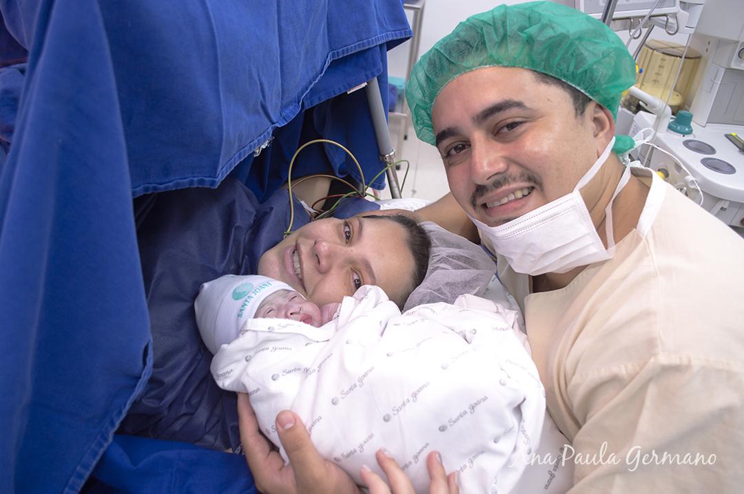 fotografia de parto - parto normal - parto cesária -hospital e maternidade Santa Joana 42