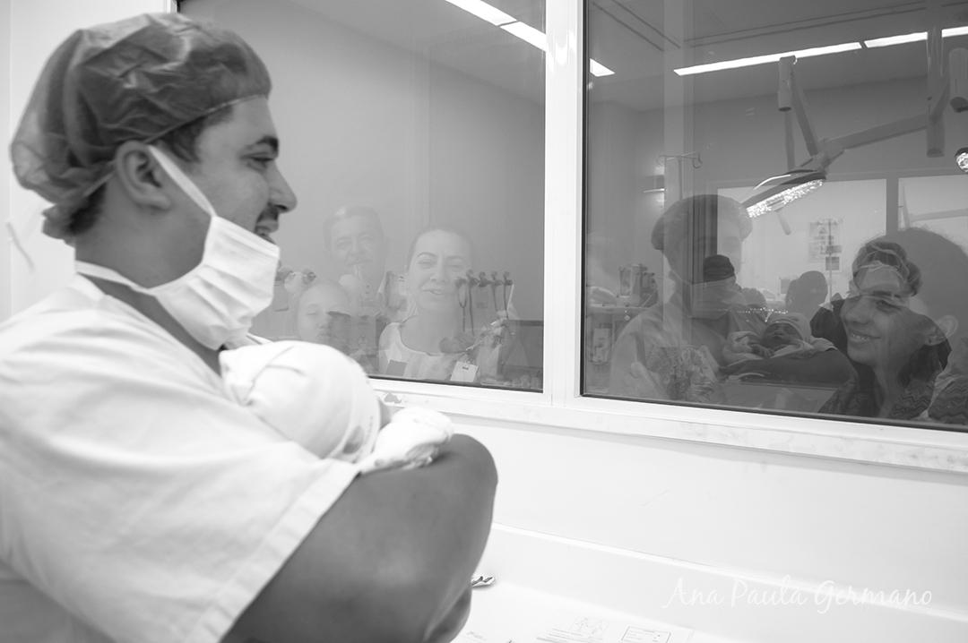 fotografia de parto - parto normal - parto cesária -hospital e maternidade Santa Joana 46