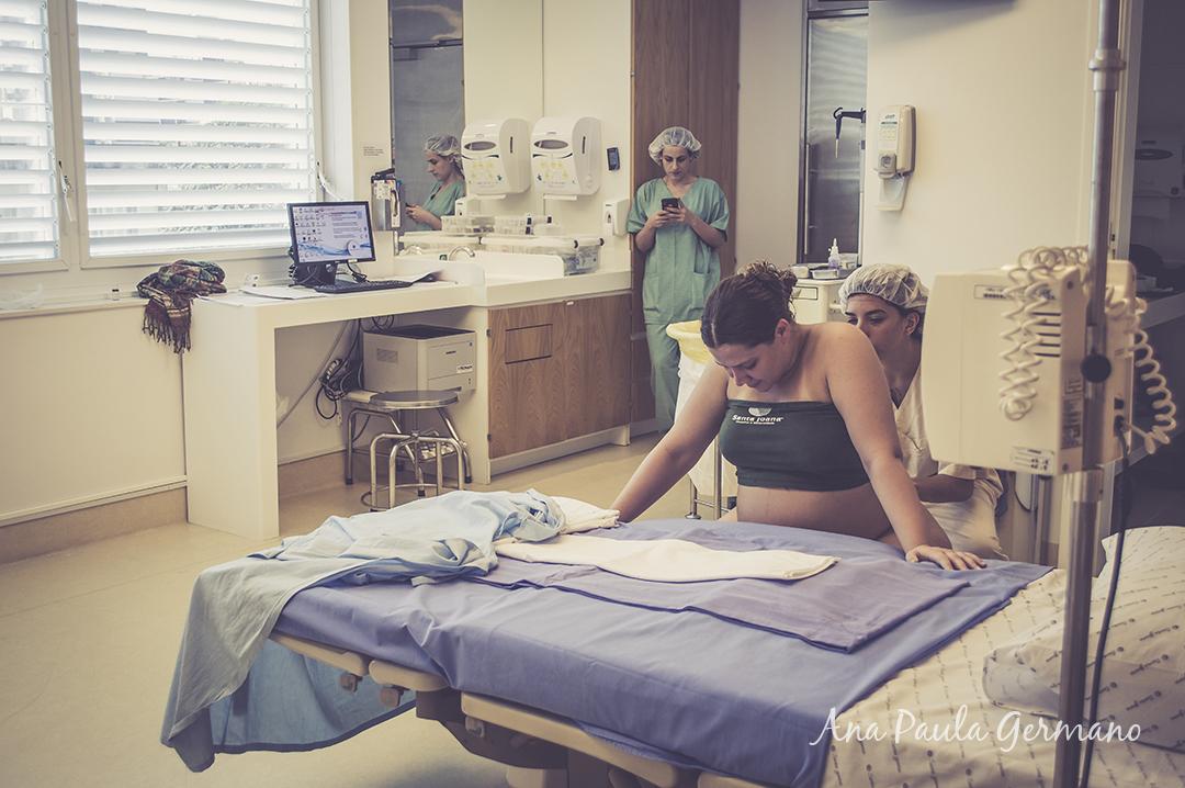 fotografia de parto - parto normal - parto cesária -hospital e maternidade Santa Joana 1