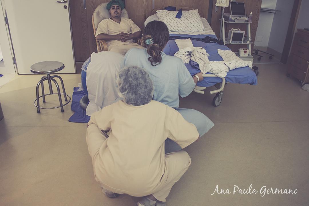 fotografia de parto - parto normal - parto cesária -hospital e maternidade Santa Joana 15