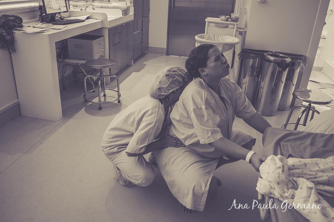 fotografia de parto - parto normal - parto cesária -hospital e maternidade Santa Joana 16
