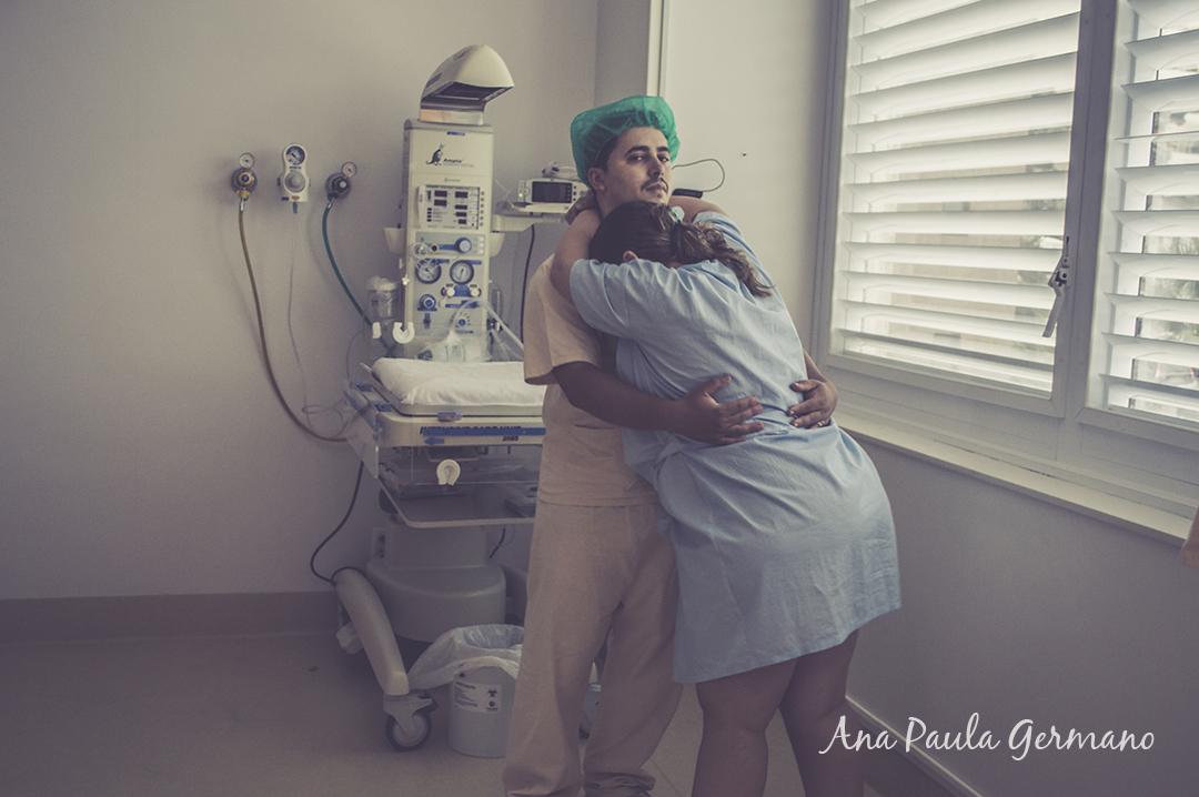 fotografia de parto - parto normal - parto cesária -hospital e maternidade Santa Joana 17