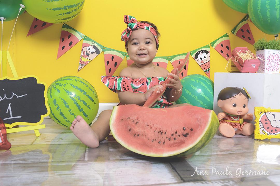 smash the fruit menina - tema magali