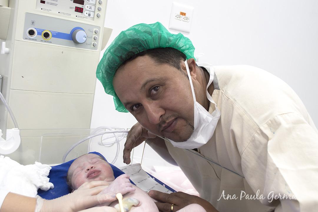 Fotografia de Parto - Hospital e Maternidade Santa Joana, Zona Sul, São Paulo