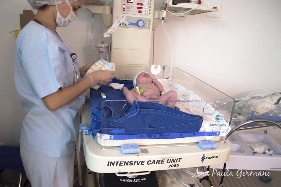 Fotografia de parto - Hospital e Maternidade Santa Joana - Zona Sul de São Paulo 35